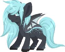 Bat Pony Adopt - CLOSED by Reixxie