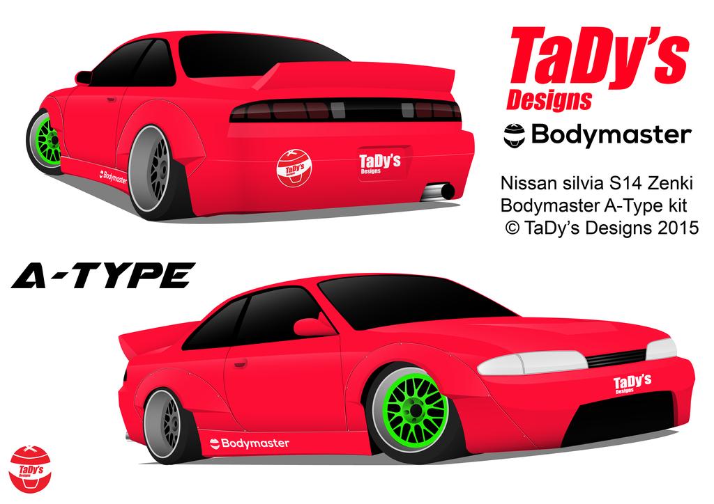 A-Type Bodykit prototype by tadydrift