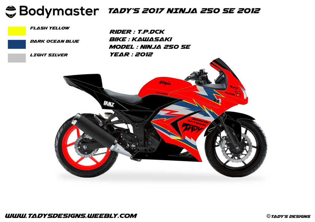 TaDy's 2017 Ninja 250 Project by tadydrift