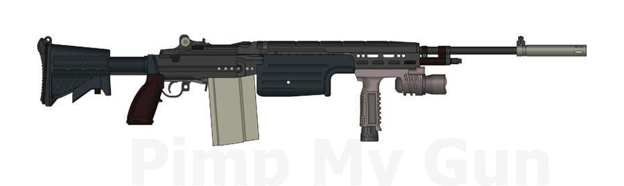 gagrier assault rifle by handcannoninfinte