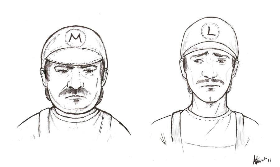 The Super Mario Bros by AlineMendes