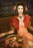 Aerith Gainsborough by AlineMendes