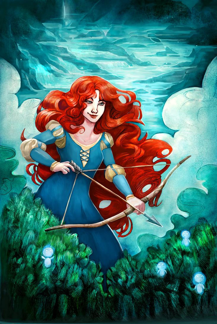 Merida for Luciana by AlineMendes