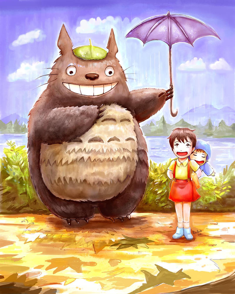 Totoro by AlineMendes