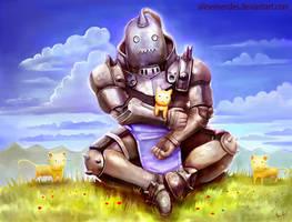 Full Metal Alchemist - Alphonse by AlineMendes