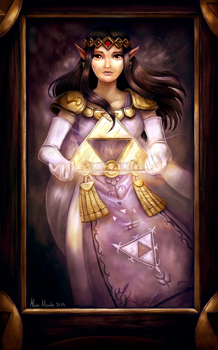 Princess Hilda by AlineMendes