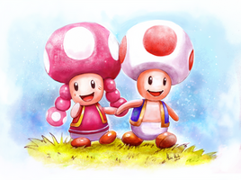 Toad and Toadette 2