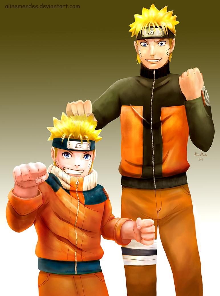 Naruto Uzumaki by AlineMendes