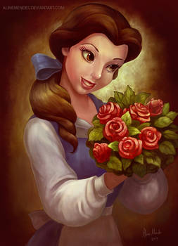 Belle With Roses