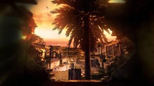 Call of Duty 4 - Backlot