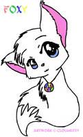 Chibi Foxy by Cloudkitty
