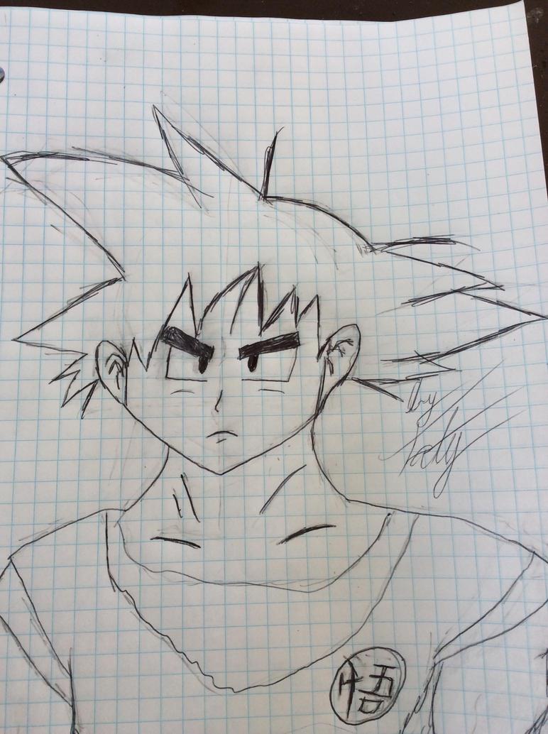 Goku - Dragon ball series by KNUXOUGE123SONAMY123