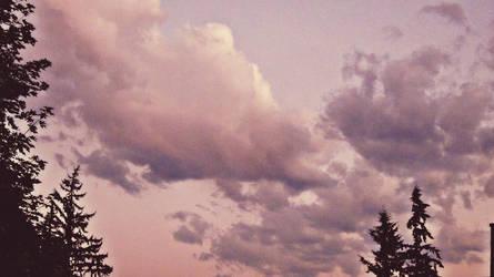 Purple Sky by ItsJessykaa