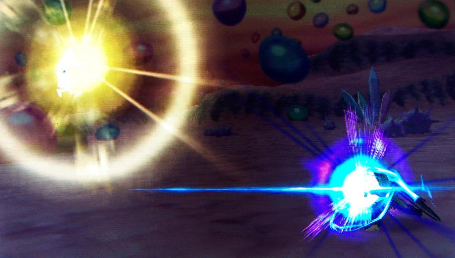 Final Flash Vs Super Kamehameha By ShadowSmasher1