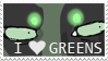 I heart Greens by comiKazzie