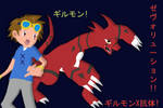 Takato and Guilmon X by Adrifinel