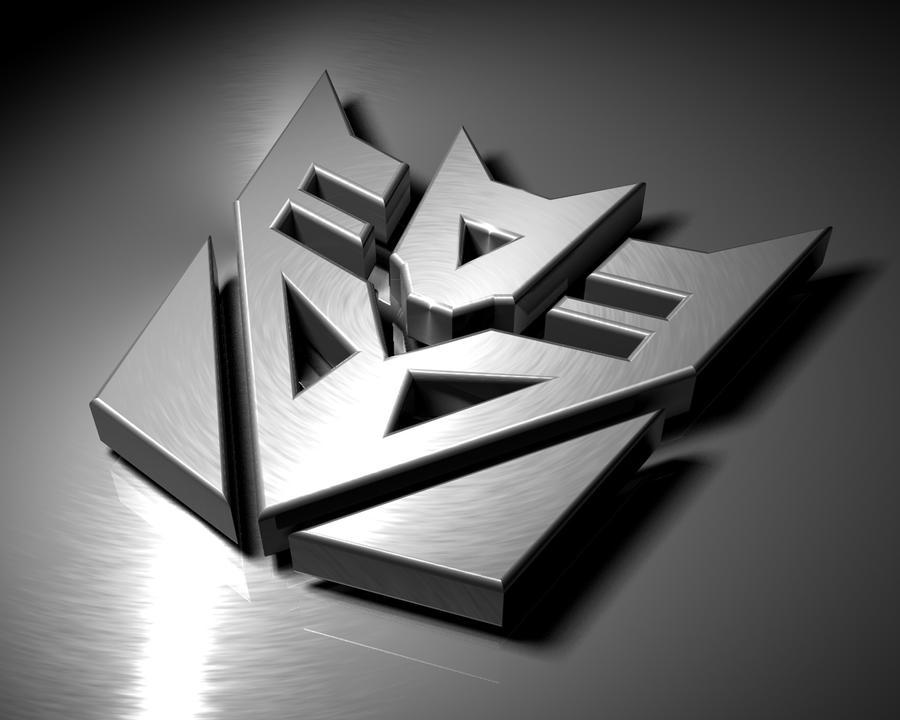 3D Decepticon logo by Ullulu on deviantART
