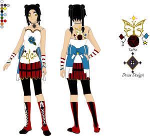 Older Maki Chun Hei: Outfit Design~
