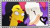 Franbob Francesca x Sideshow Bob stamp by sAkora1