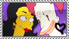 Franbob Francesca x Sideshow Bob stamp by sideshow-coholic
