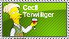 Cecil Terwilliger stamp by sAkora1