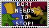 Anti Bort stamp