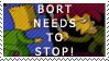 Anti Bort stamp by sideshow-coholic