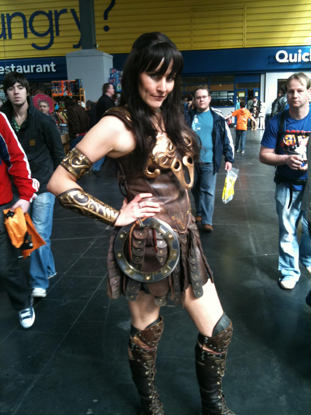 Cosplay Xena by TheMajikelOne