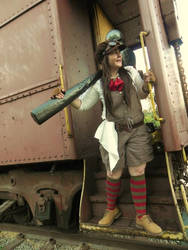 Hammer Girl's Adventures 2 by JadeApprentice