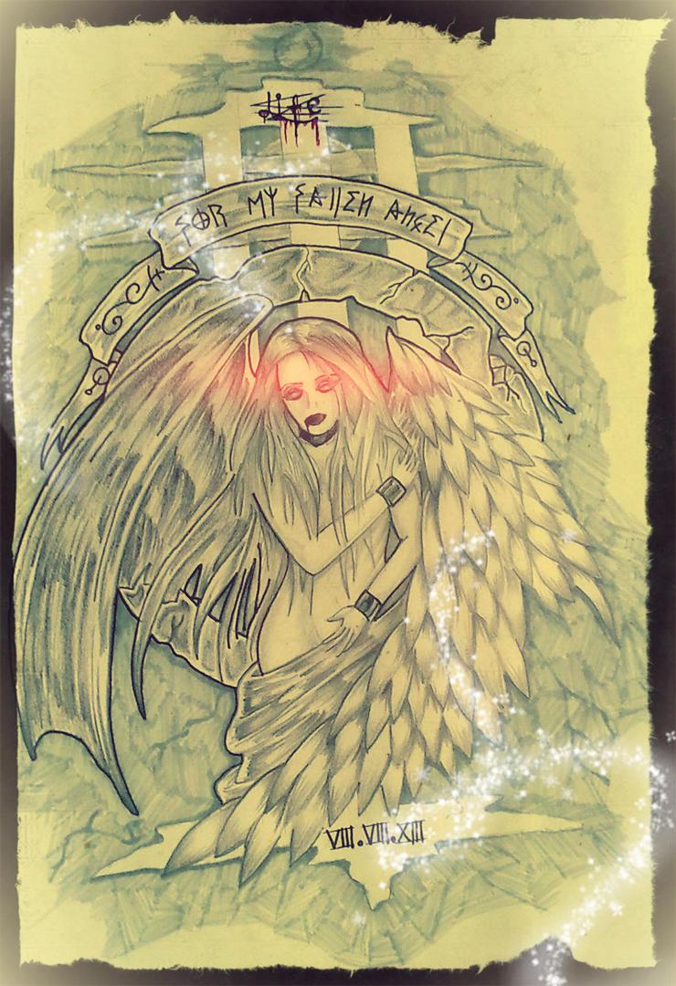 For My Fallen Angel by ACiDAT0R