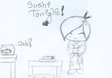 Sushi Tonight by 210teenlibrary