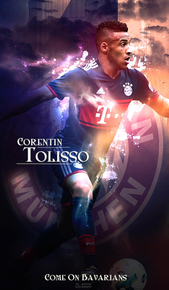 Corentin Tolisso WALLPAPER by Ds Bayern on DeviantArt