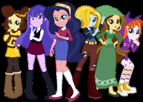 DC Super Equestria Girls