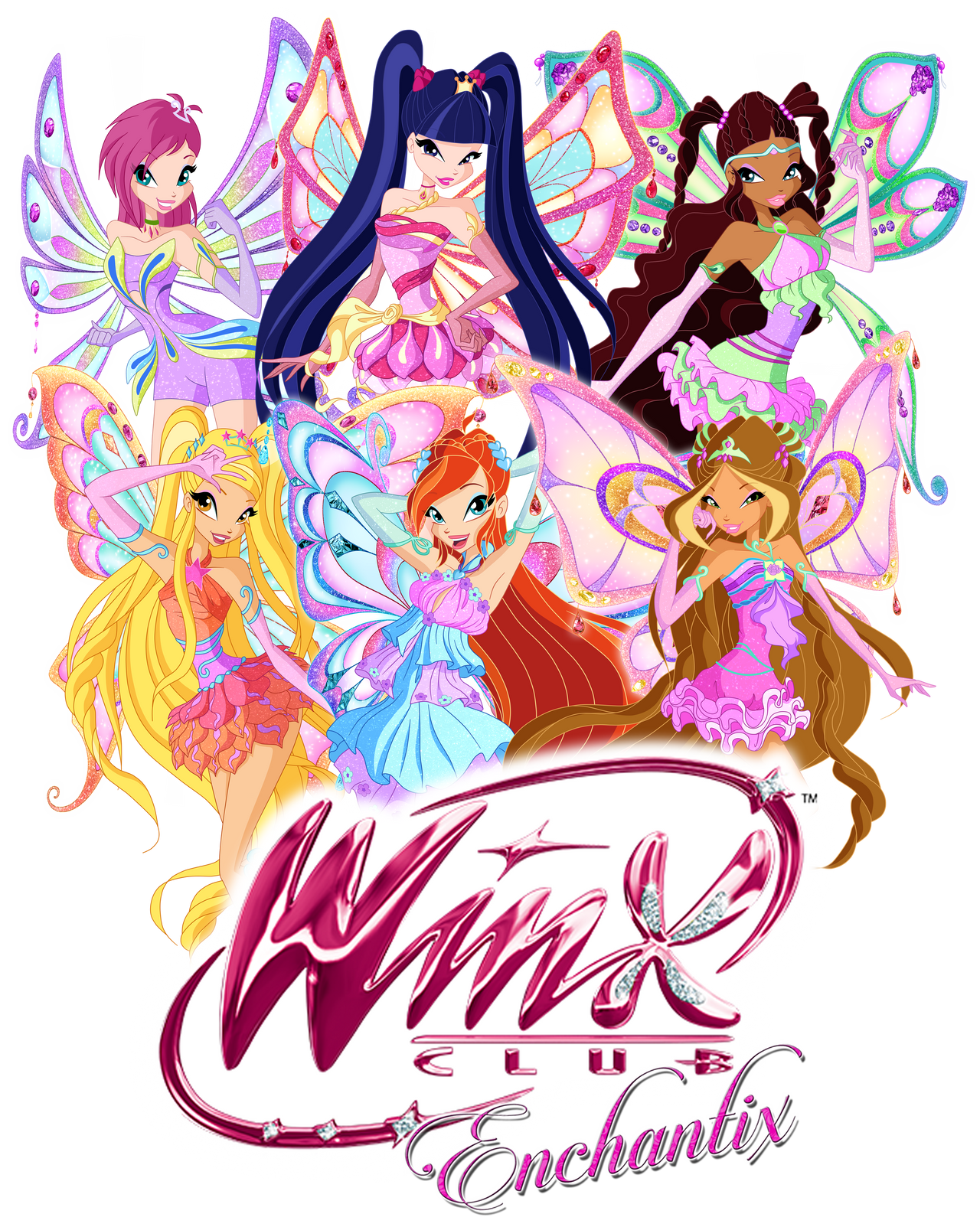 Winx Club Season 8 Enchantix By Rosesweety On Deviantart
