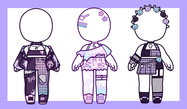 Outfits Pastel Punk Closed By Myubeans On Deviantart
