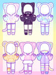 [OUTFIT] Animal Hoodies: CLOSED