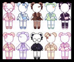 $14 Bear Outfits: OPEN
