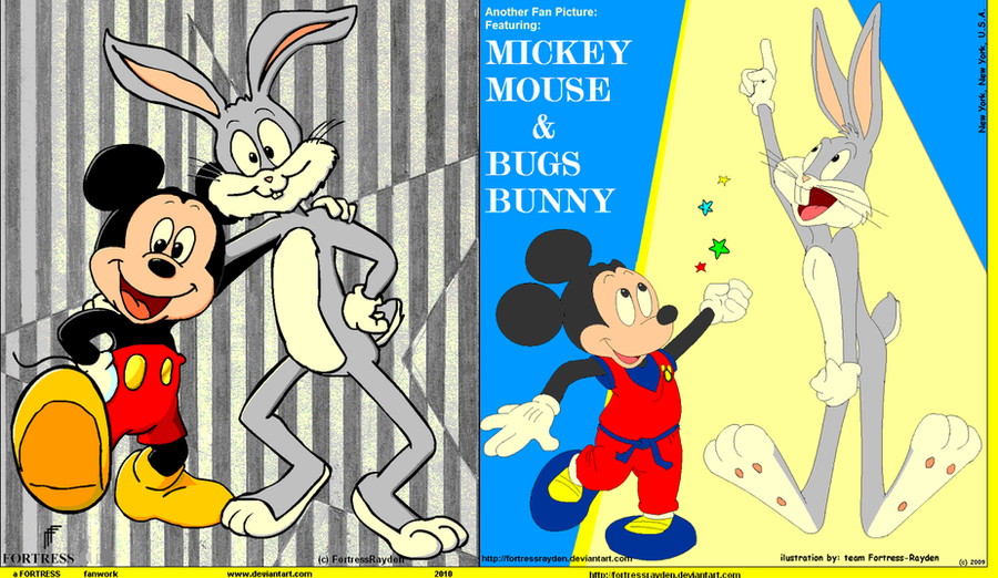 Bugs Bunny And Mickey Mouse Smoking Weed bugs bunny and mickey ...