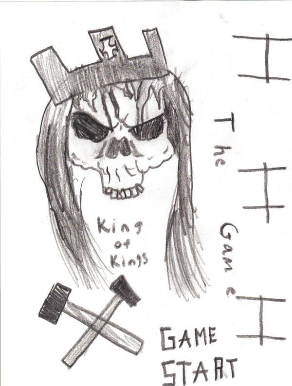 Hhh King Of Kings Skull