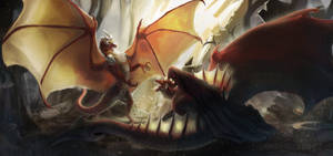 Dragon's battle[YCH FINISHED]