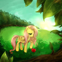 Fluttershy by cr-applesauce