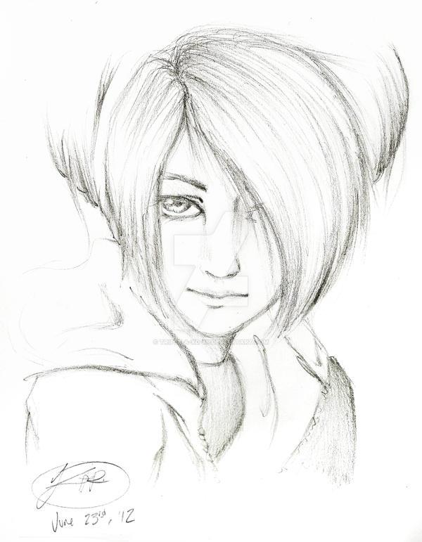 Sketch practice -Modern Toph by Triple-A-XD-XP