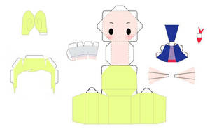 Tetra Papercraft Template by AnimeGang
