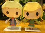 Toon Link Papercraft Complete