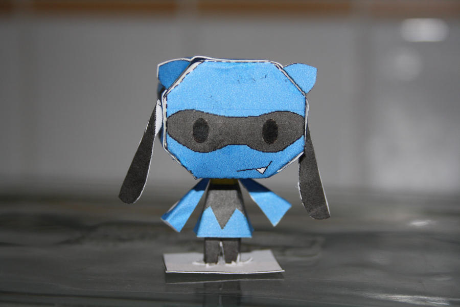 Riolu Papercraft by AnimeGang