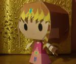 Chibi Zelda Papercraft