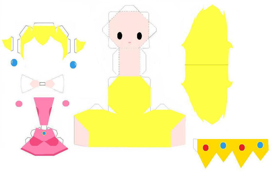 Peach Papercraft Template By Animegang On Deviantart