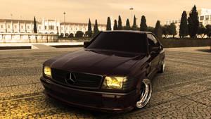 Mercedes 560 SEC AMG by rulerz96