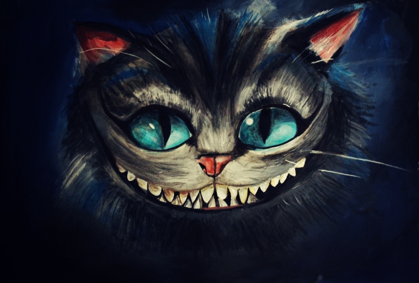Cheshire Cat by ahsr o...