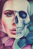 Lana skull II fanart by ahsr
